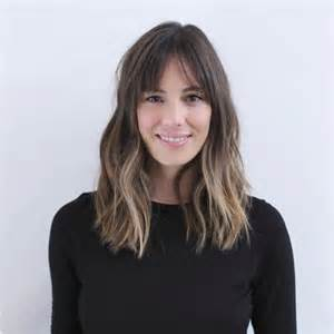 medium length hairstyles for hair parted in middle with bangs best 25 middle part bangs ideas on pinterest middle