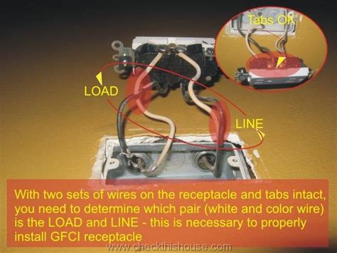 gfci outlet installation how to install gfci 4 easy steps