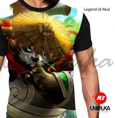 Mobile Legends Kaos Akai Ml010 grosir kaos mobile legends legend of akai kaos 3d bagus