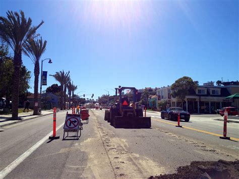 Pch Construction - pacific coast highway nears construction end dana point times