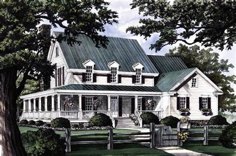 craftsman farmhouse house plan 86162 cottage country craftsman farmhouse plan with 2910 sq ft 4 bedrooms 4