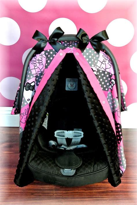 hello car seats hello minky carseat canopy car seat cover by