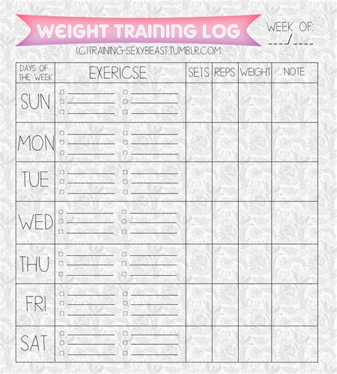 printable food fitness journal printables food journal fitness journal training sexybeast