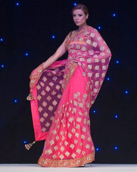 Colourfull Pink Prewedding Gown bridal by manish malhotra