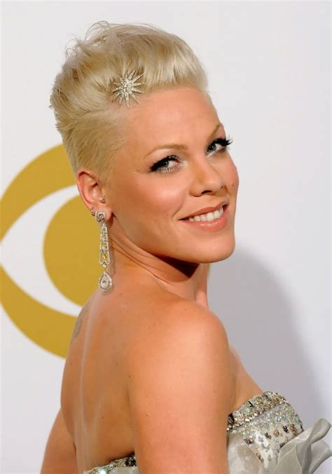 Pink Hairstyles For Women | pink cool short faux hawk hairstyle for women hairstyles