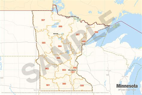 list of zip code prefixes search the maptechnica printable map catalog maptechnica