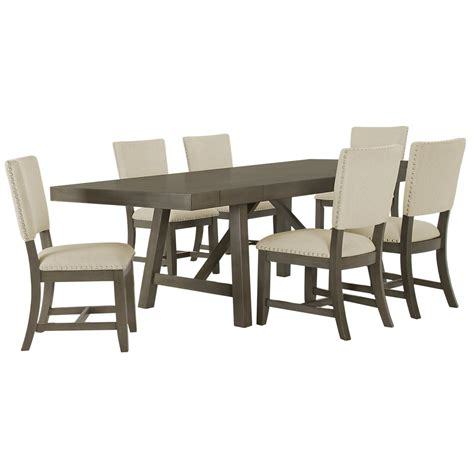city furniture omaha gray rectangular table 4