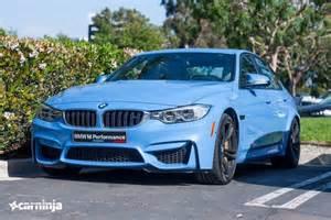 f80 bmw m3 sedan yas marina blue spotted in the u s