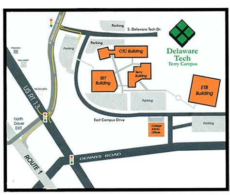 Partners For Progress   Map of Terry Campus