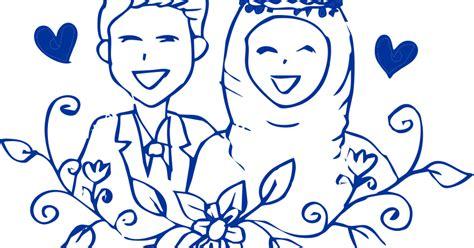 tutorial vector kartun corel draw template pernikahan kartun muslim vector coreldraw cdr