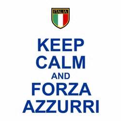 Tshirt Forza Italia Grey keep calm and forza azzurri t shirt on sale 15 95