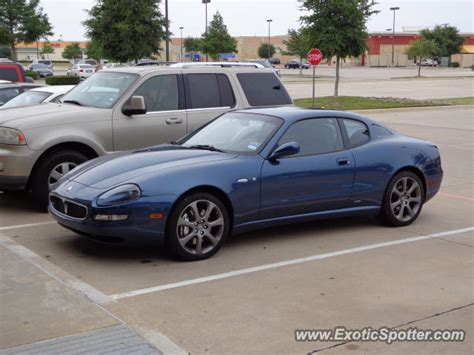maserati gransport spotted in dallas on 05 07 2012