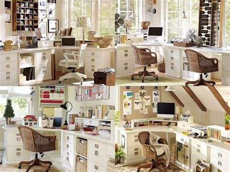 Home Office Ideas Pottery Barn Designing And Creating A Home Office The Journey
