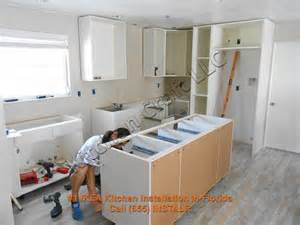 Ikea Kitchen Cabinet Installation Cost by Back To The Cabinets Here The Horizontal Cabinet Boxes Are