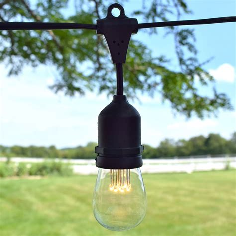 Vintage Outdoor String Lights Led Suspended Vintage String Lights