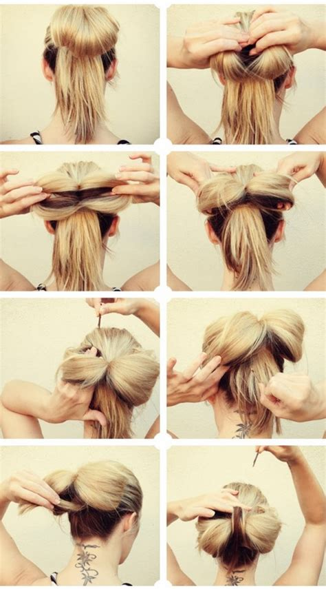 Hairstyles How To Do A Bow | 16 ways to make an adorable bow hairstyle pretty designs