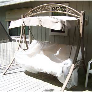 Canopy Bed Costco Costco Arched Frame Swing Replacement Canopy Garden Winds