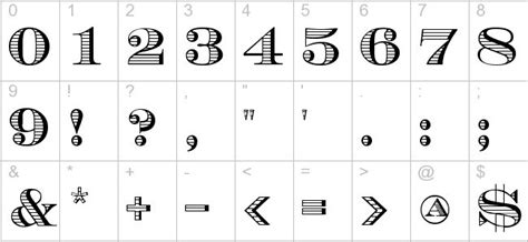 tattoo number fonts 1000 ideas about number fonts on