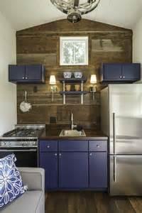 Micro Kitchen Design Indigo Tiny House Swoon