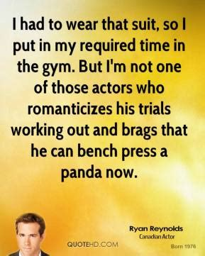 ryan reynolds bench press trials quotes page 1 quotehd