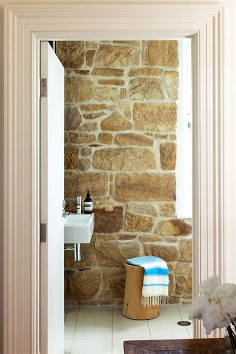 bathroom stone wall stone wall country bathroom arent pyke