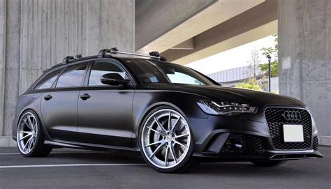 Audi Rs6 Matt by Matte Black Mtm Audi Rs6 With Hre Wheels