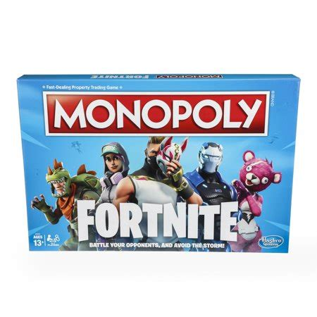 fortnite monopoly monopoly fortnite edition board inspired by fortnite