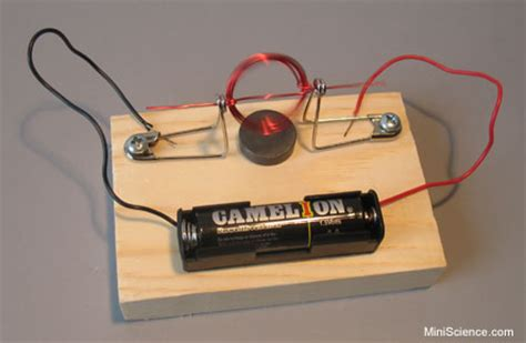 Electric Motor Experiment by Magnet Motor A Simple Dc Motor