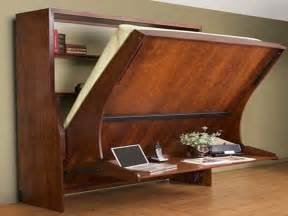 Murphy Bed With Desk Attached Furniture Wall Beds With Desk Modern Wall Bed