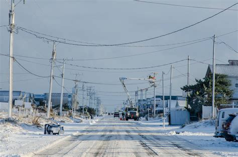 Winter Outer snow on the outer banks nc realty