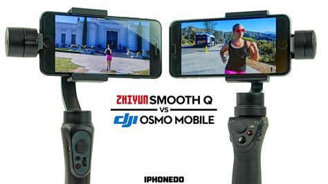 Dji Osmo Hitam zhiyun smooth q vs dji osmo mobile complete comparison