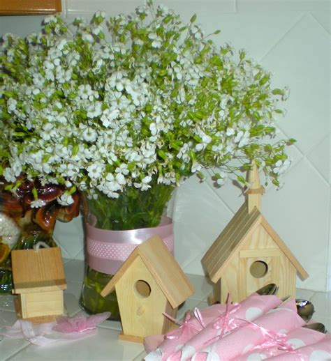 inexpensive baby shower centerpieces baby s breath centerpiece inexpensive decor for a baby shower or bridal shower i do wish i was