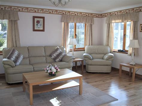 Oak Livingroom Furniture by Foxglove Cottages 5 Star Self Catering Luxury Lodges Loch
