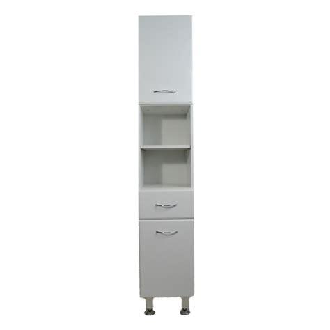 tall narrow white bathroom cabinet milano white gloss tall narrow bathroom cabinet