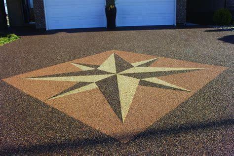 custom epoxy flooring designs logos