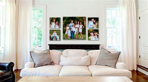 decorar pared con fotos familiares ideas para decorar con fotos