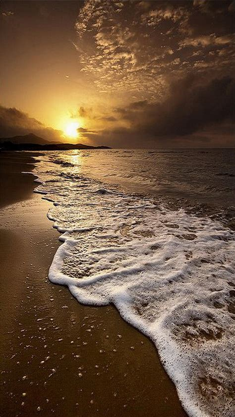 beautifull sun sea mobile wallpaper