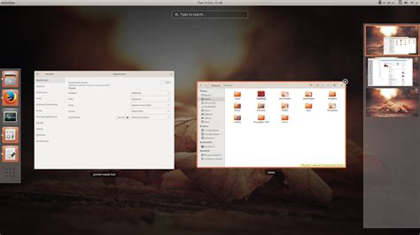 gnome themes ubuntu 14 10 install ambiance and radiance themes with fixed header