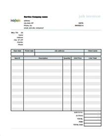 construction invoice template pdf construction invoice forms rabitah net