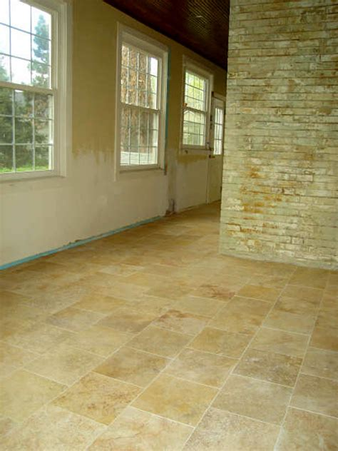 travertine bathroom floor travertine marble flooring homes and garden journal