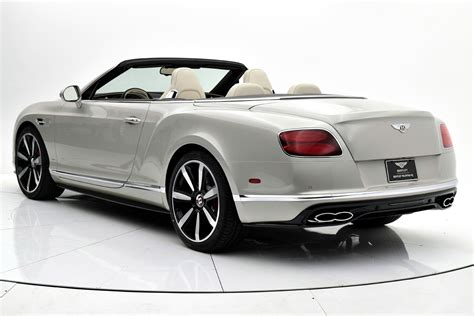 bentley 2017 convertible 2017 bentley continental gt v8 s convertible