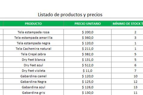 planilla de excel para control de ingresos y egresos planilla de excel de presupuesto inventario y gesti 243 n de