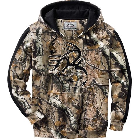 Sweater Camo 7 legendary whitetails s camo outfitter hoodie ebay
