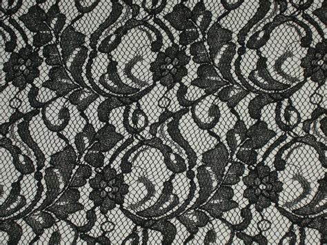black lace black lace fabric scalloped material floral