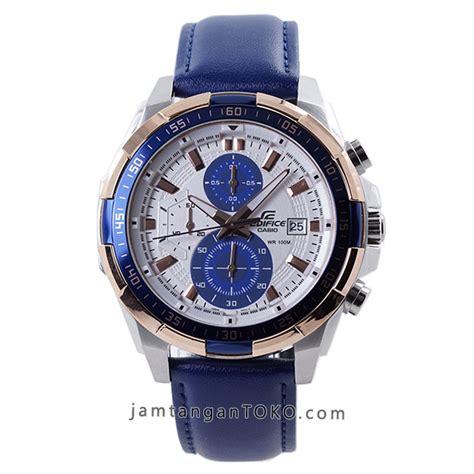 Edifice 539 Kulit harga sarap jam tangan edifice efr 539l 7cv navy blue