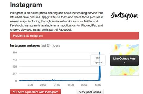 instagram get layout not working instagram down social network outage and not working for
