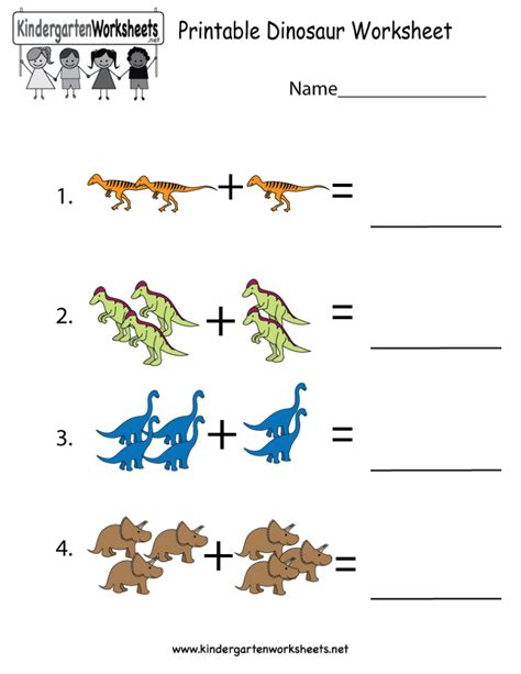 free printable preschool learning worksheets coloring pages printable dinosaur worksheet free