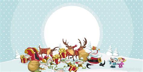 imagenes navideñas vectoriales gratis papa noel y sus renos papa noel y sus renos latest