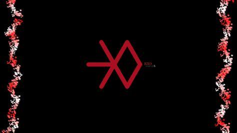 exo wallpaper symbol exo logo wallpaper wallpapersafari