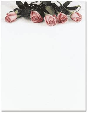 rose themed paper pink rose petals theme paper paper with pink rose petals